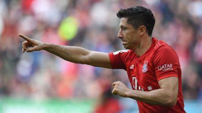 LIVE. Onvermijdelijke Lewandowski evenaart straf record, Bayern na rust erop en erover?