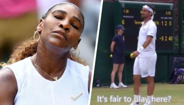 Serena Williams et Fabio Fognini