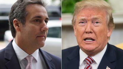 """Trump bespreekt in opgenomen gesprek hoe artikel over affaire in de doofpot kan verdwijnen: """"Betaal cash"""""""