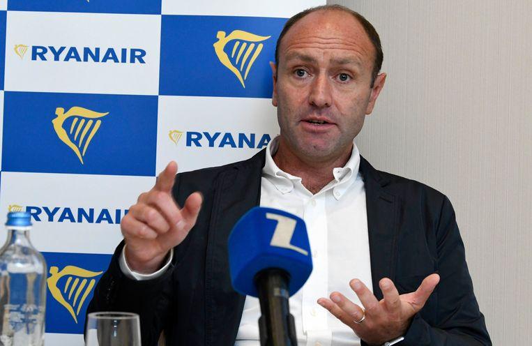 Kenny Jacobs, marketingdirecteur Ryanair.