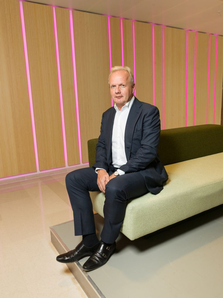 Directeur Peter Smink van Vattenfall: 'We hadden mensen beter moeten voorlichten over biomassa.'   Beeld Ivo van der Bent
