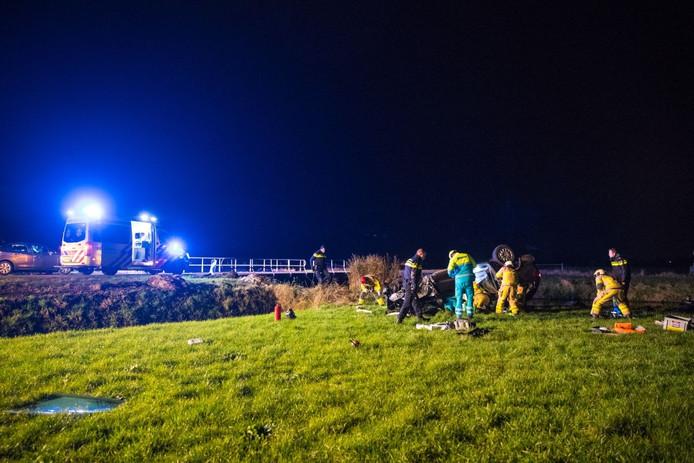 Ongeval in Oldebroek
