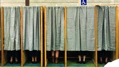 Prijs van leukste verkiezingsfoto gaat naar... 'Mijn lief en vier nonnetjes'