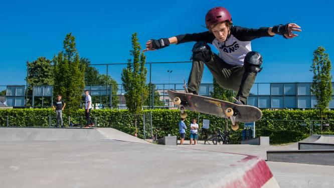 Skatepark enkel open op reservatie