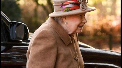 Ook Queen Elizabeth doet haar gordel niet om