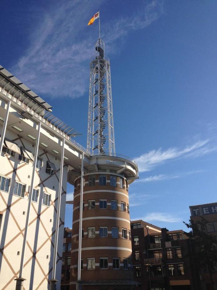De toren op het Marktplein. Foto Veluwe Centraal