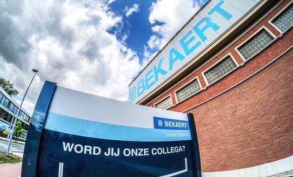 De arbeiders en bedienden van Bekaert Zwevegem hebben vandaag het werk neergelegd voor een 24uren-staking.