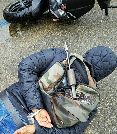 Scooterdieven gepakt na achtervolging in Zwijndrecht