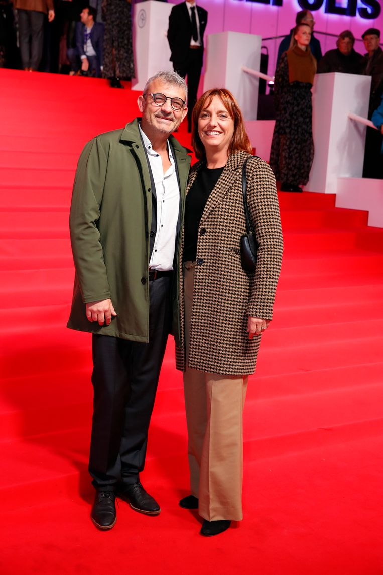 Peter Bulckaen en echtgenote
