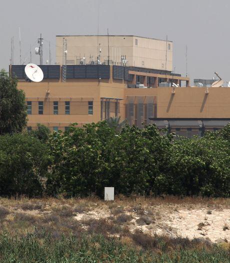 Raketaanvallen op Amerikaanse doelen in Bagdad