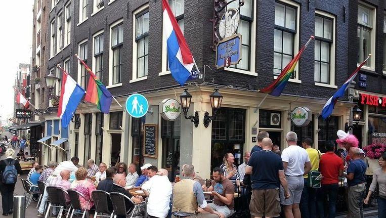 De Engel van Amsterdam Beeld Facebook