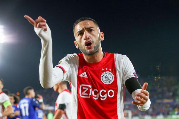 Hakim Ziyech in de clinch met de eigen fans in Getafe.