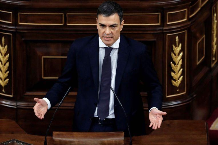Pedro Sánchez wordt de nieuwe premier van Spanje.