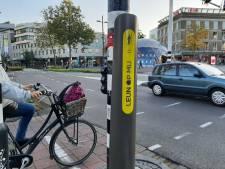 Geen knop meer indrukken, maar er tegenaan hangen: in Eindhoven worden 'leunstoplichten' getest