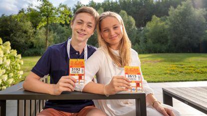 """Tweeling Cédric en Amélie (15) zijn jongste Dodentocht-deelnemers: """"We zullen onderweg wel ruzie maken"""""""