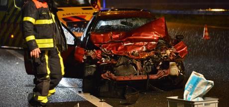 Zwaar ongeluk op A16 bij Prinsenbeek
