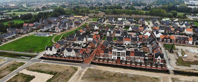 De nieuwbouwwijk Plantage ontwikkelt zich nu snel.