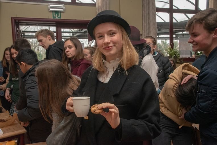 English Day in het Sint-Gertrudis College.