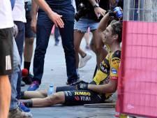 Van Aert is helemaal terug na akelige Tour-crash: 'In zijn hoofd is Wout een tank'
