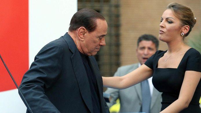 Silvio Berlusconi en zijn vriendin Francesca Pascale