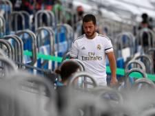 Le Real s'impose pour son retour, Eden Hazard toujours gêné à la cheville
