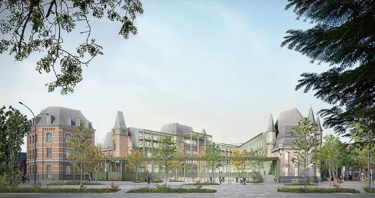 Tegen 2021 zal de projectontwikkelaar de Leopoldskazerne op deze manier omgebouwd hebben.