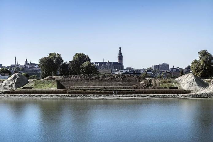 Fort Knodsenburg, zoals het nu te zien is. foto Bert Beelen