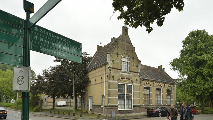 Het vroegere schoolgebouw aan de Kapellestraat in Oudewater, waar het muziekhuis wordt ondergebracht.