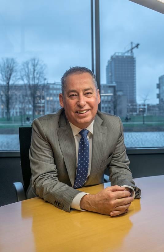 Tim van der Hagen, bestuursvoorzitter en rector van de TU Delft.