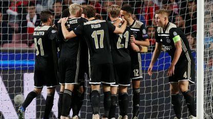 Ajax doet goede zaak in Lissabon en kan kwalificatie voor volgende CL-ronde haast ruiken