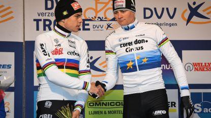 """Niels Albert kijkt uit naar duel tussen Van Aert & Van der Poel op de weg: """"Die twee gaan mekaar niks gunnen, ze gaan als twee zotten achter mekaar rijden"""""""