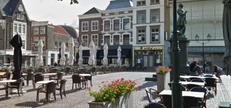 Het Scheffersplein in Dordrecht is straks een echt horecaplein