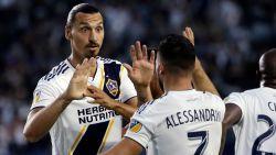 FT buitenland. Zlatan Ibrahimovic (37) verkozen tot 'rookie' van het jaar in MLS