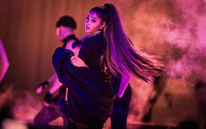 >De Amerikaanse zangeres Ariana Grande.