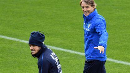 """Italiaanse ploeg aan het werk in Genkse Luminus Arena: """"Hopelijk tilt Mancini Italië weer naar hoger niveau"""""""
