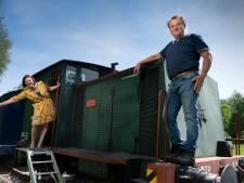 Je zoekt een tuinhuisje op Marktplaats: en je koopt een locomotief en wagon