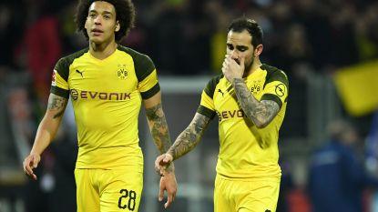 Dortmund nu ook de mist in bij Augsburg: Bayern kan morgen op gelijke hoogte komen