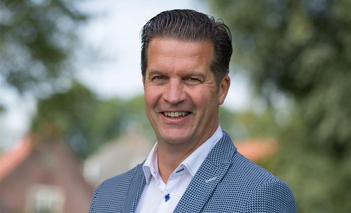 Bram Visser, wethouder financiën in de fusiegemeente Molenlanden .
