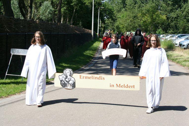 De processie op Pinkstermaandag
