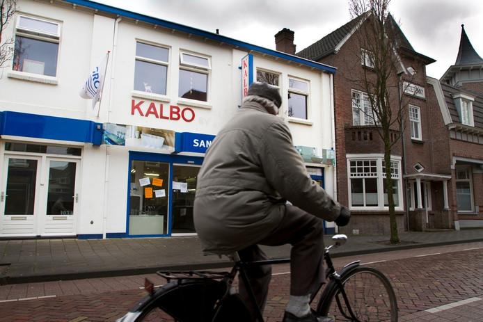 Kalbo die jaren geleden besloot om te gaan verhuizen. foto Bruno Bolsius