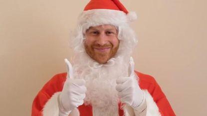 Prins Harry is Kerstman van dienst voor het goede doel