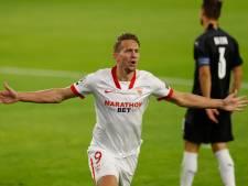Luuk de Jong ook in CL belangrijk voor Sevilla