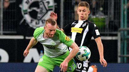 Hazard rekent af met Wolfsburg-belgen Dimata, Origi en Casteels (en die laatste kreeg een wel heel vreemde goal tegen)