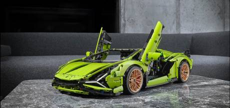 Le nouveau Lego-Lamborghini se compose de près de 4.000 pièces