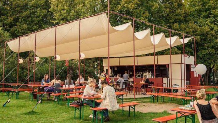 Le bar Fabiola, la Guinguette du Parc du Roi Baudouin
