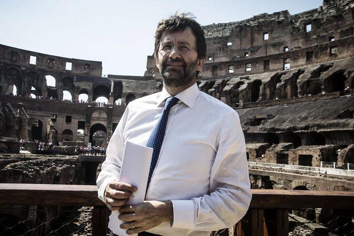 Le ministre italien de la Culture, Dario Franceschini.