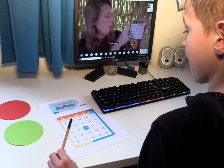 Jeugd geniet van online-bingo Kinderopvang Walcheren: 'Eindelijk weer iets samen doen'