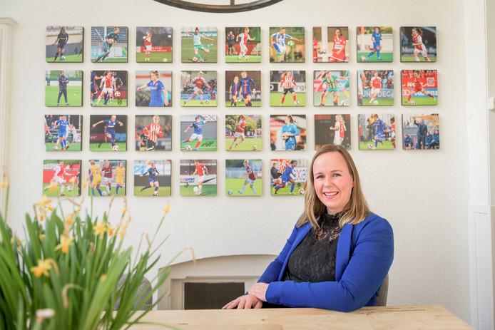 Leoni Blokhuis: ,,Bij sommige clubs wordt echt goed verdiend.''