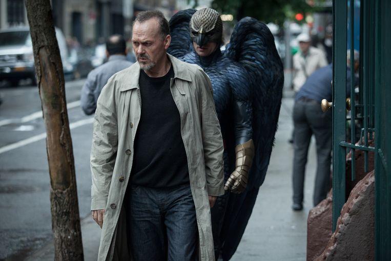 Michael Keaton in Birdman. Beeld Atsushi Nishijima