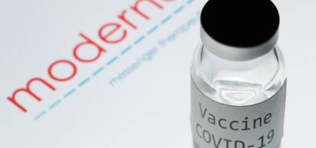 L'UE a réservé 160 millions de doses du vaccin de Moderna